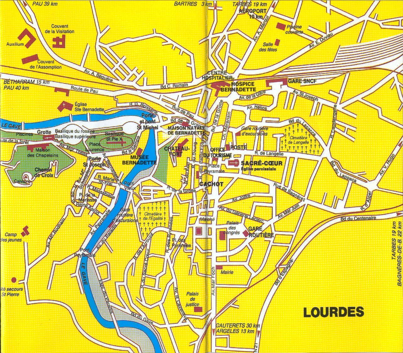 map of lourdes with Mappacittalourdes on Bijagua De Upala as well Photos as well Mappacittalourdes further Haute Pyrennees Lac De Gaube Pont as well Cartes Plans.